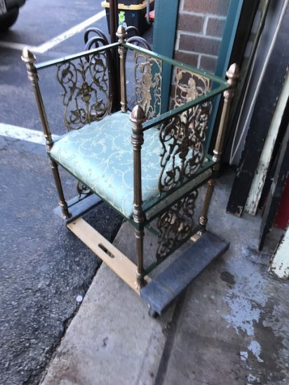 1920's Neo-Classical Chair - Click Image to Close