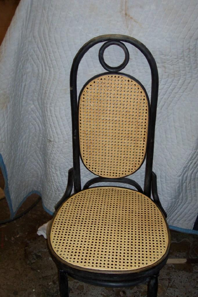 Delightful Wicker Chair Restoration